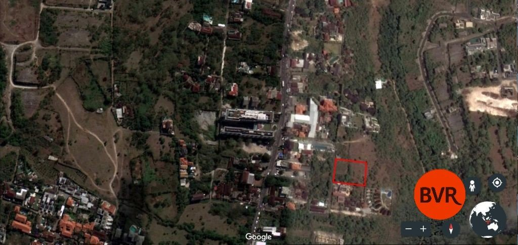 Land For Sale With Ocean And Mountain Views In Jimbaran