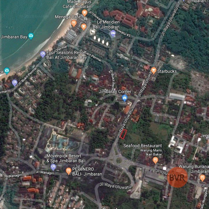 Land For Sale In Primary Location Of Jimbaran