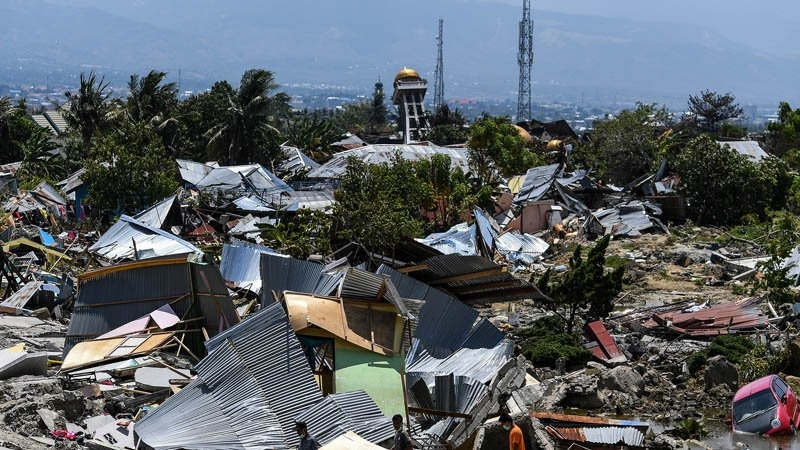 Palu Earthquake and Tsunami