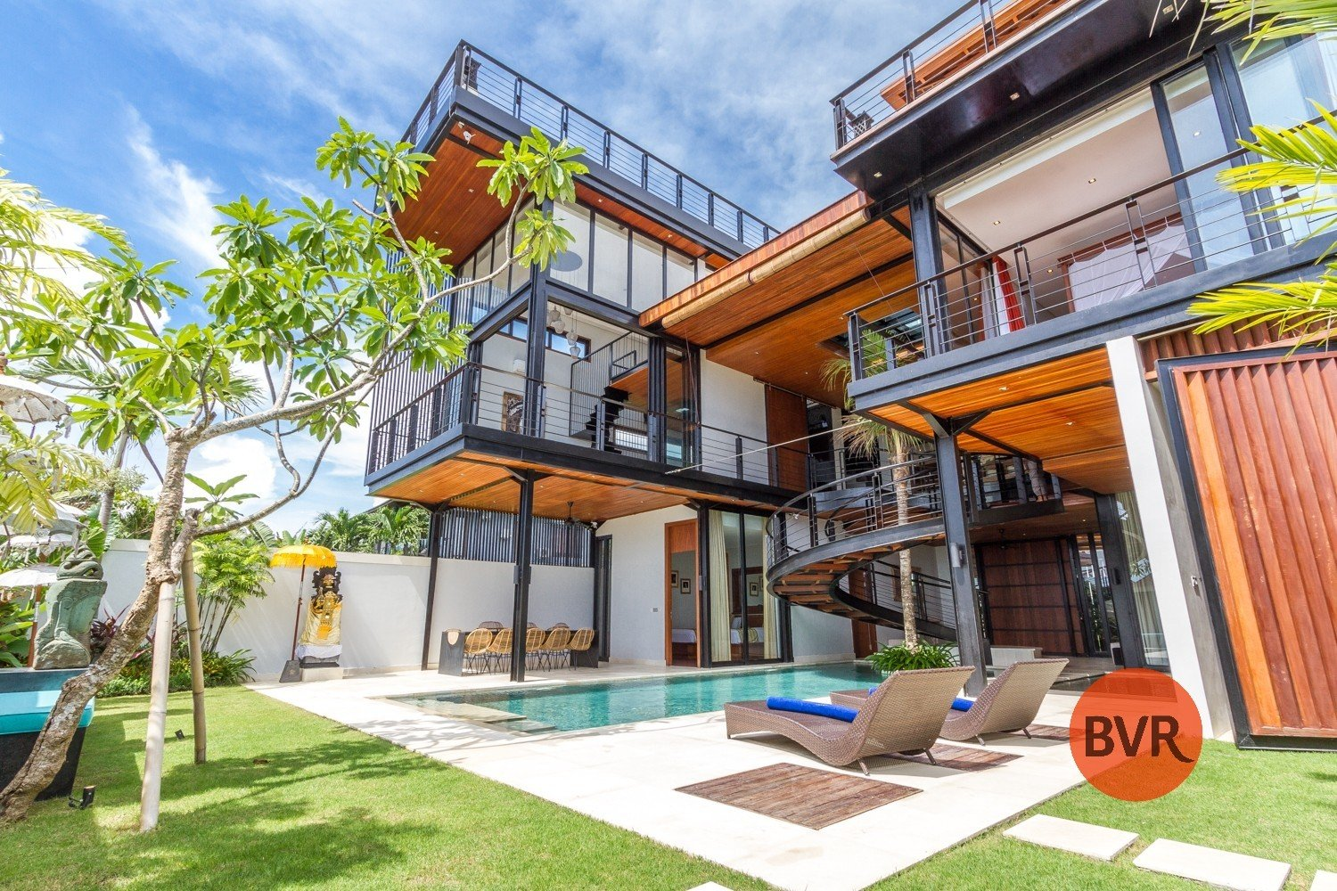 BALI VILLA LUXURY ROOFTOP OCEAN VIEW INTERNATIONAL ARCHITECT