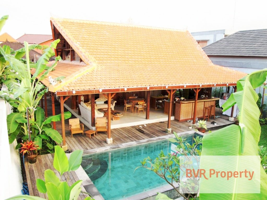 BRAND NEW JOGLO WOODEN HOUSE IN SANUR