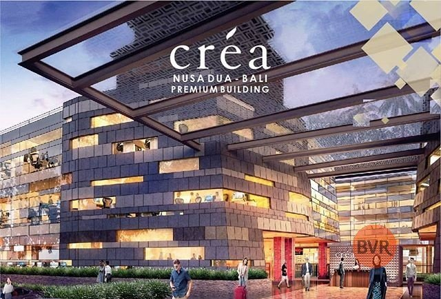 "Space for cafe/restaurant! ""crea premium building nusa dua"" – from 145m2 lower ground floor"