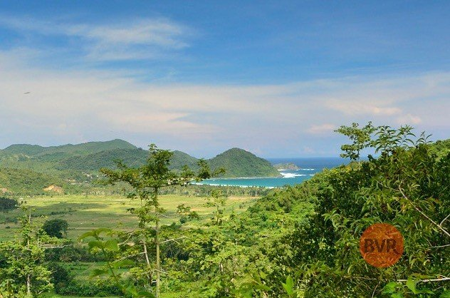 Beautifully View Land with Ridge Top in Lombok