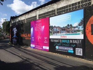 Advertising in Bali