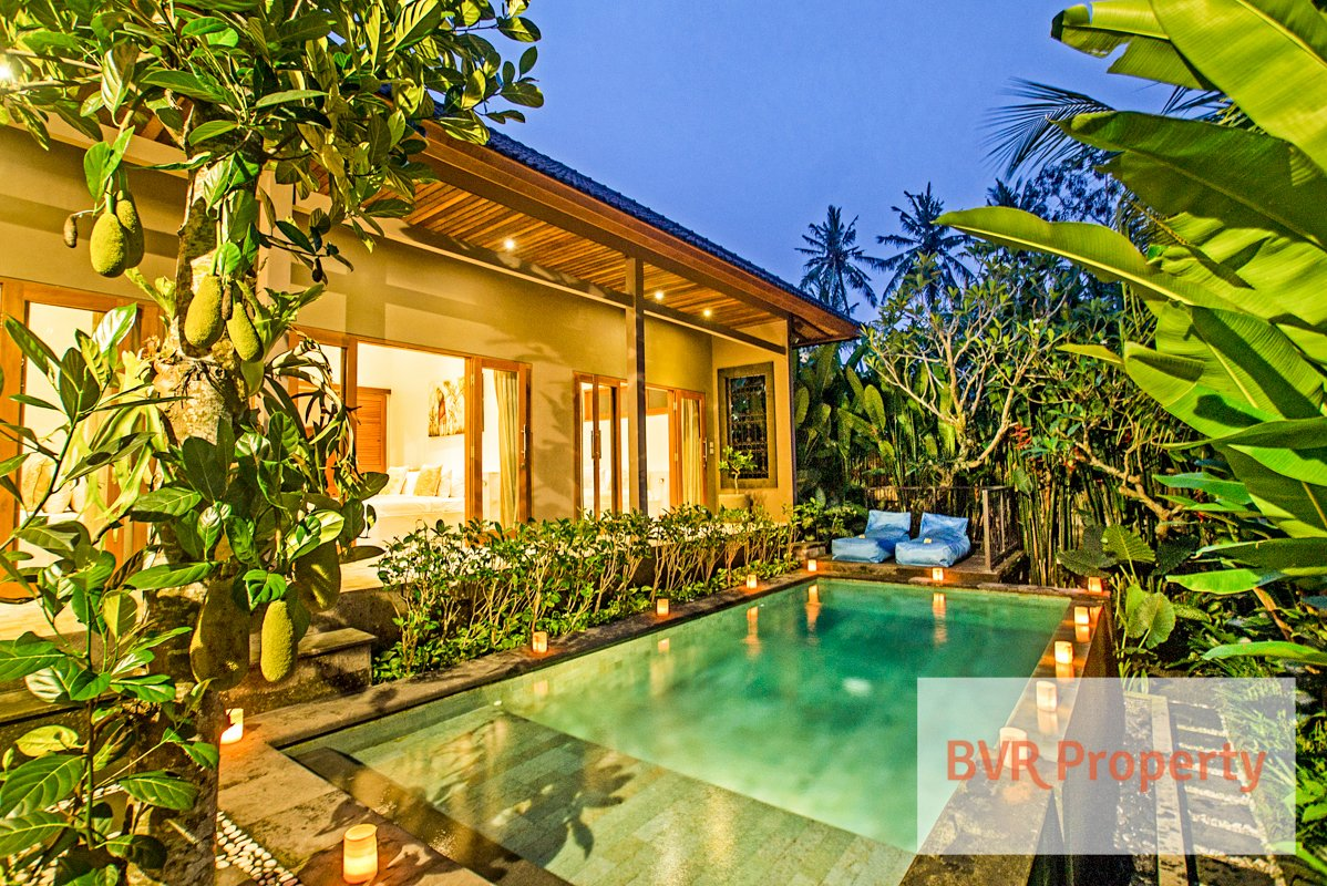 Tranquil 3 Bedroom Bali Private Pool Villa for Rent in Tabanan