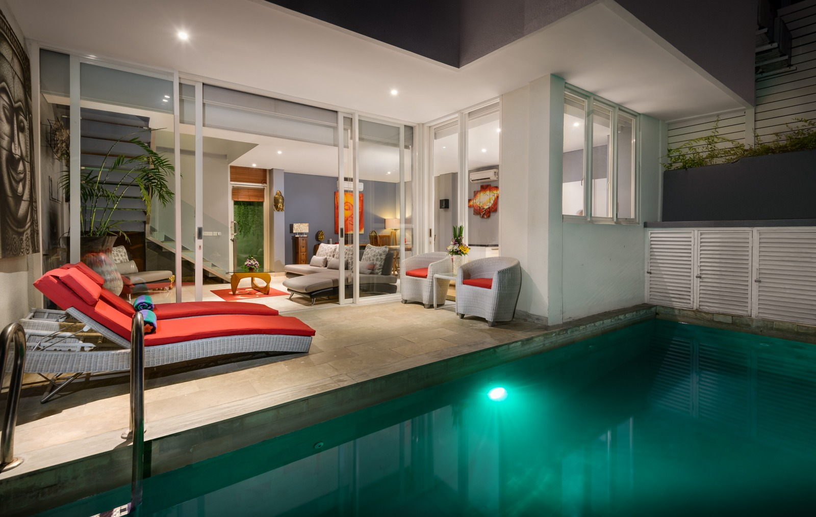 Enclosed Living Close to Legian Beach