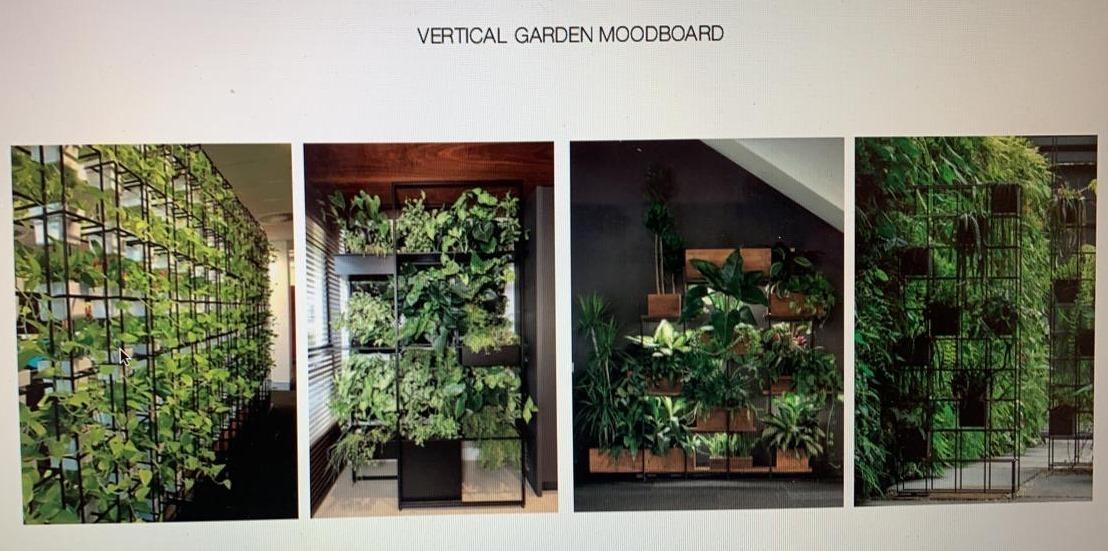 11. Vertical gardens