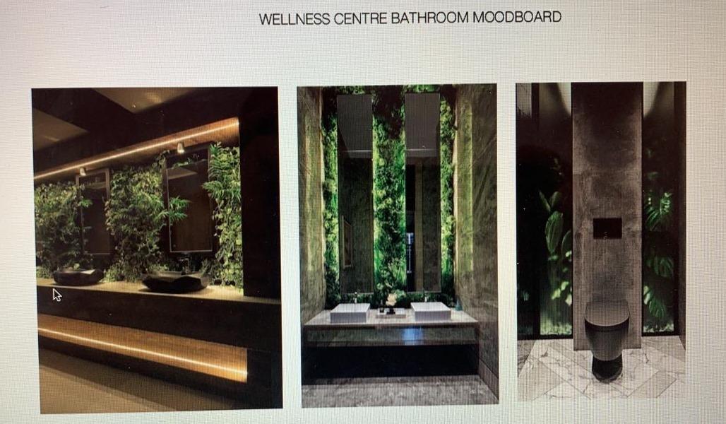 7. Wellness Centre bathrooms